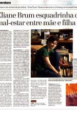 """Resenha do livro """"Uma Duas"""" publicada no jornal O Tempo"""