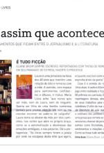 """Resenha do livro """"Uma Duas"""" publicada na Revista GOL"""