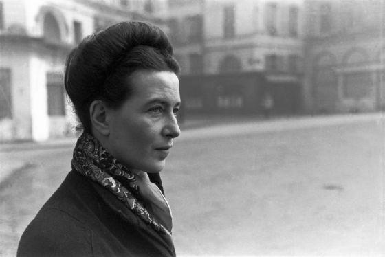 Simone de Beauvoir (Arquivo El País)