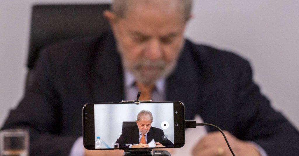 O ex-presidente Lula, durante entrevista em São Paulo. TONI PIRES (Reprodução E