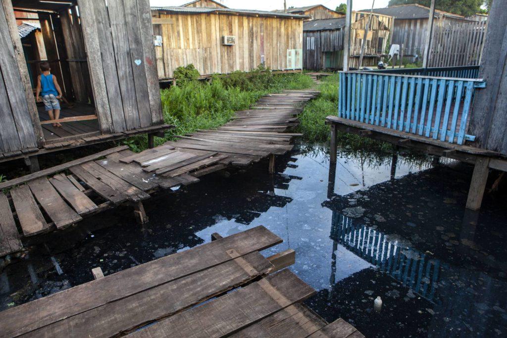 O bairro Jardim Independente 1, na cidade de Altamira, sofreu o impacto da especulação imobiliária causado pela construção de Belo Monte. LILO CLARETO