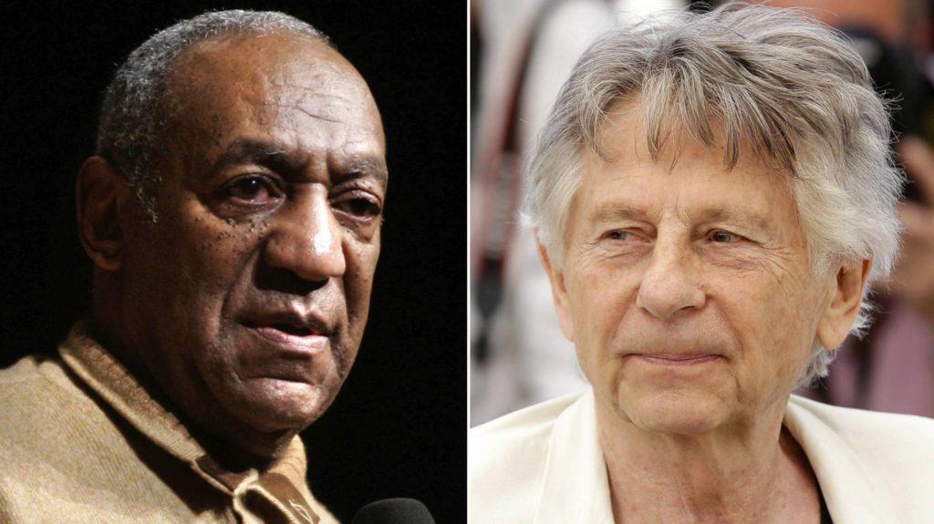 Bill Cosby y Roman Polanski, en imágenes de 2006 y 2017, respectivamente AP (Reprodução El País)