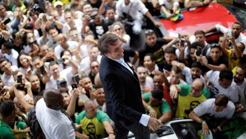 Jair Bolsonaro é recepcionado em Salvador U.MARCELINO REUTERS (Reprodução do El País)