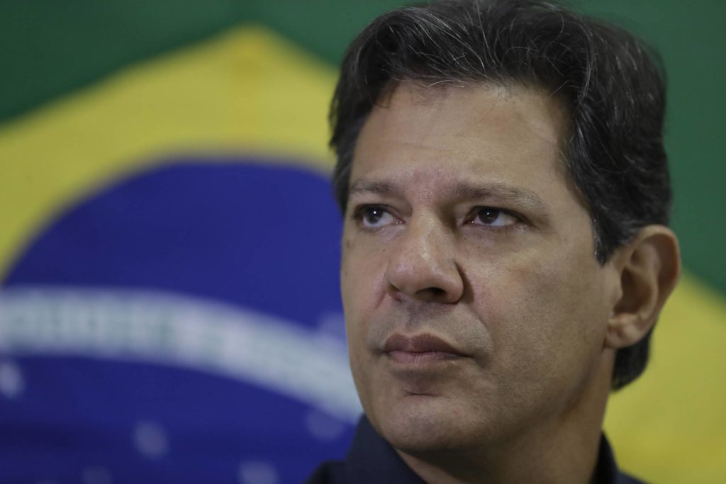 Fernando Haddad, candidato à Presidência. Foto: ANDRE PENNER/AP (Reprodução do El País)