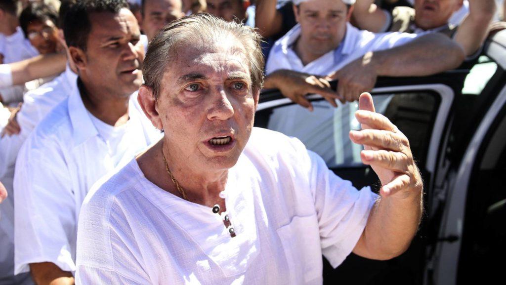 O médium João de Deus (Foto: Marcelo Camargo/AP/Reprodução do El País)