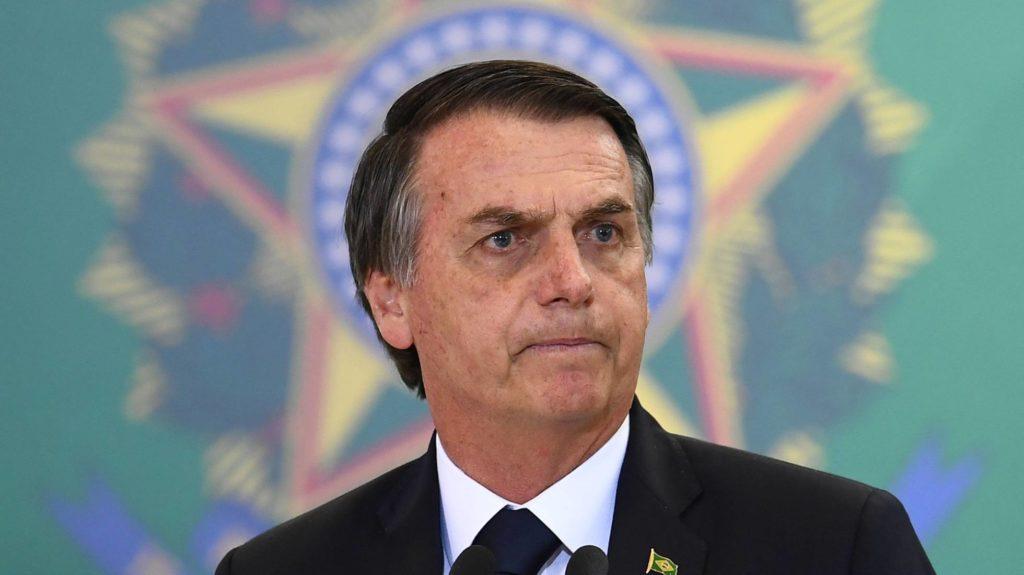 O presidente do Brasil, Jair Bolsonaro. Foto: Evaristo Sá/AFP - Reprodução do El País