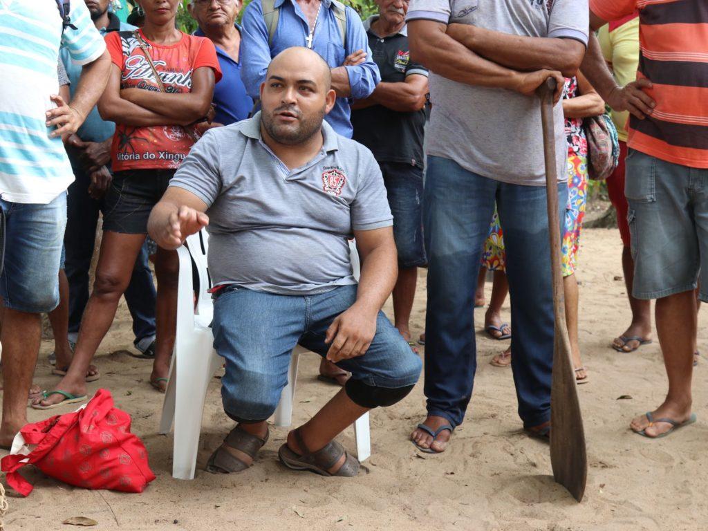 O agricultor Erasmo Alves Teófilo, liderança na Volta Grande do Xingu, na Amazônia, está marcado para morrer por lutar contra o poder de destruição da grilagem (Foto: Jonathan Watts)