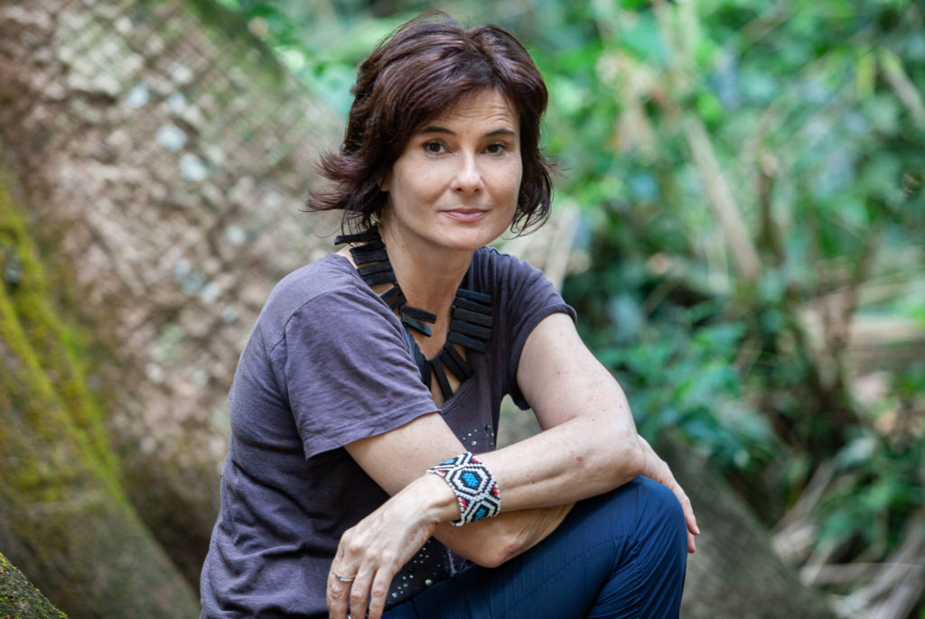 Altamira, 03/09/2019 - Arquipélago Editorial - Escritora e jornalista Eliane Brum.      Foto: Lilo Clareto