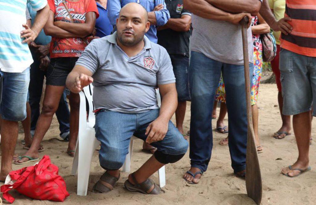 El agricultor Erasmo Alves Teófilo, líder de la Vuelta Grande del Xingú, fotografiado en la Amazonia en diciembre de 2019 .JONATHAN WATTS (Reprodução do El País)