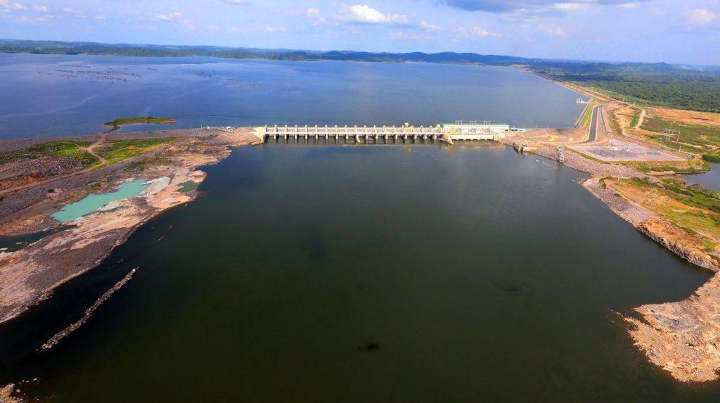 Usina de Belo Monte, na época de sua inauguração, em novembro de 2019.MARCOS CORRÊA/PR (Reprodução do El País)